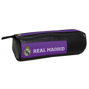 Real Madrid Soft Cylindrical Pencl Case