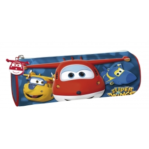 Super Wings Cylindrical Pencil Case