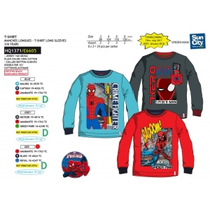78db5a4cf Spiderman long sleeve t-shirt