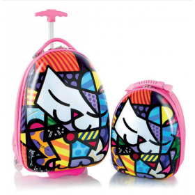 Travel Tots Cat - Kids Luggage & Backpack Set