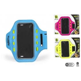 Bl neoprene phone armband with led light