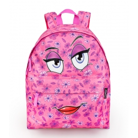 3 pockets teenage backpack