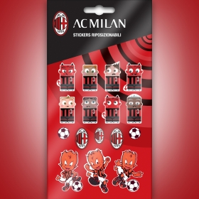 AC MIlan pvc sticker graphic