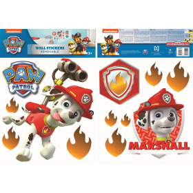 Paw Patrol wall sticker marshall 2 sheets