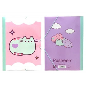 Pusheen A4 folder with rubber