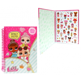 LOL Surprise A5 notebook