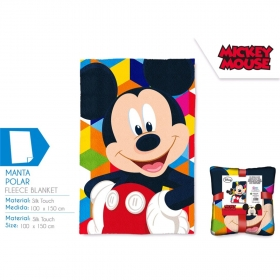 Mickey Mouse fleece blanket