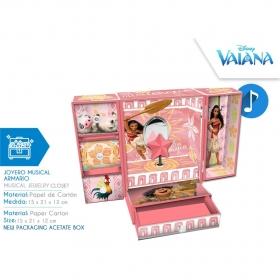 Vaiana musical jewellery box
