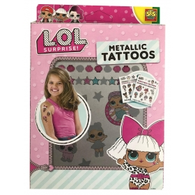 LOL Surprise metallic tattos