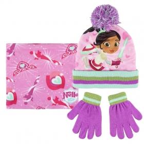 Nella autumn / winter hat, chimney scarf and gloves