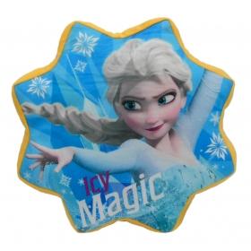 Frozen velour cushion