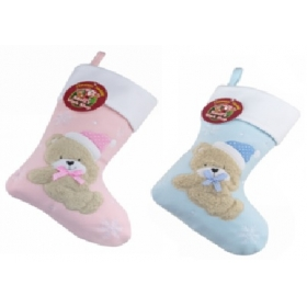 Christmas Craft - Stocking Baby Pink/Blue - model to choose