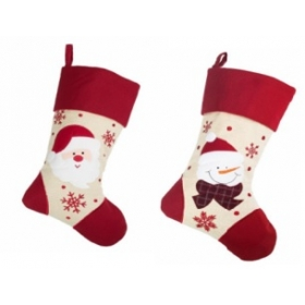 Christmas Craft - Stocking Cream/Red - model to choose