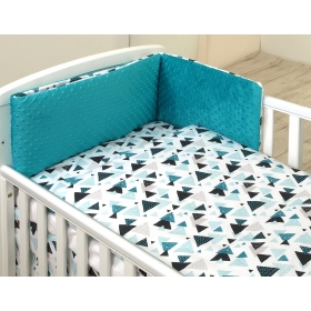Baby bedding set 5 elements Aztec-Minky