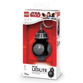 Lego Star Wars keychain with LED torch – BB-9E