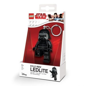 Lego Star Wars keychain with LED torch – Kylo Ren