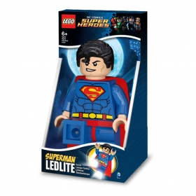 Lego Super Hero Superman torch