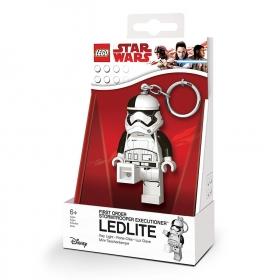 Lego Star Wars Stromtrooper keychain with LED torch