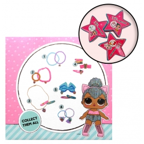 LOL Surprise small jewellery/hair accessories set