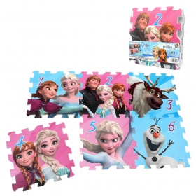 Frozen foam puzzle - 6 pcs