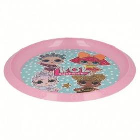 LOL Surprise plastic plate
