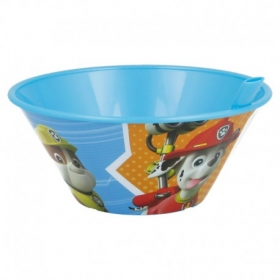 Paw Patrol bowl with straw