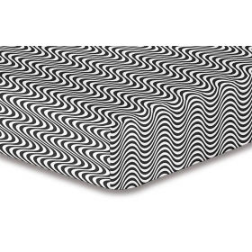 DecoKing Hypnosis Deerest microfibre fitted sheet 120x200 cm