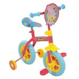"Peppa Pig 2-in-1 10"" Training Bike"