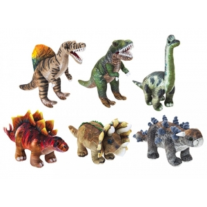 Printed Natural Dinosaurs plush