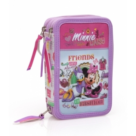Minnie Mouse pencil case with assortment