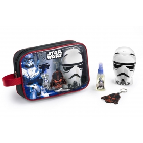 Star Wars Eau de Toilette 25 ml, Key-chain & Gel 300 ml Toilet bag