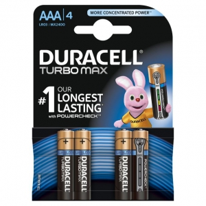 Duracell Turbo Max AAA/LR03 1,5V baterie alkaliczne