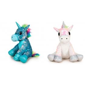 Unicorn 35 cm 3 asst plush