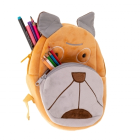 Doggy plush  kindergarden backpack