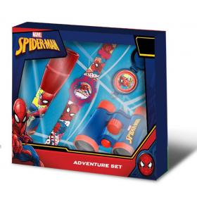 Watch + Spiderman travel kit
