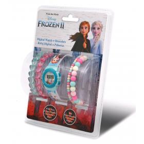 Frozen digital watch +  bracelets