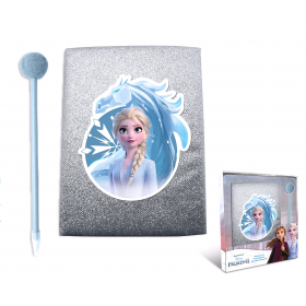 Diary with pen with pumps Frozen