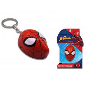 3D Spiderman metal keyring