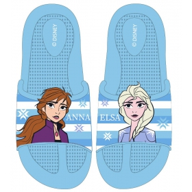 Frozen beach slippers