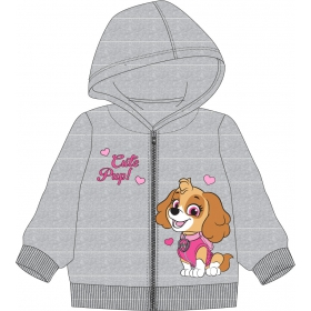 Paw Patrol baby hoodie with zip