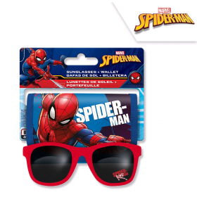 Spiderman sunglasses + wallet
