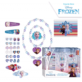 Frozen hair and jewelry box