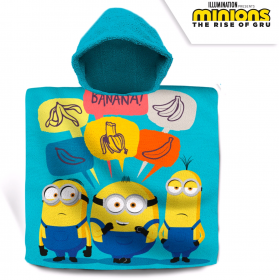 Minions cotton bathing poncho