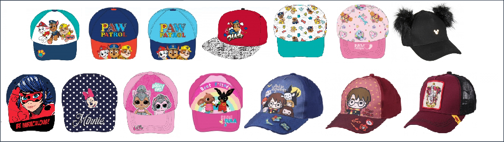 Baseball caps wholesaler